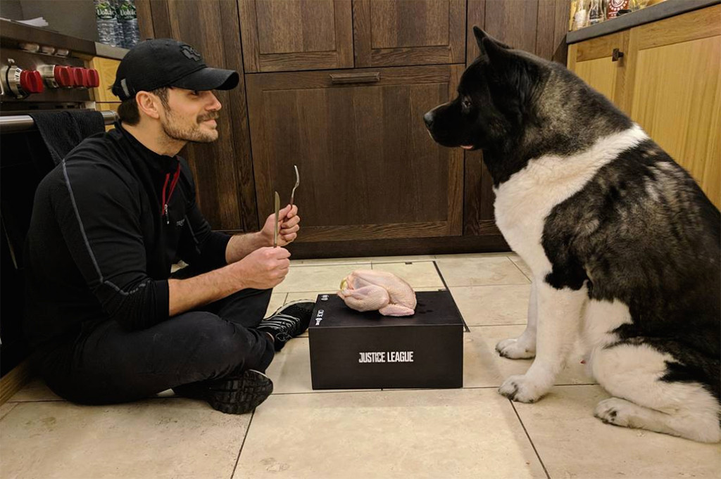 Henry Cavill, Thanksgiving 2017