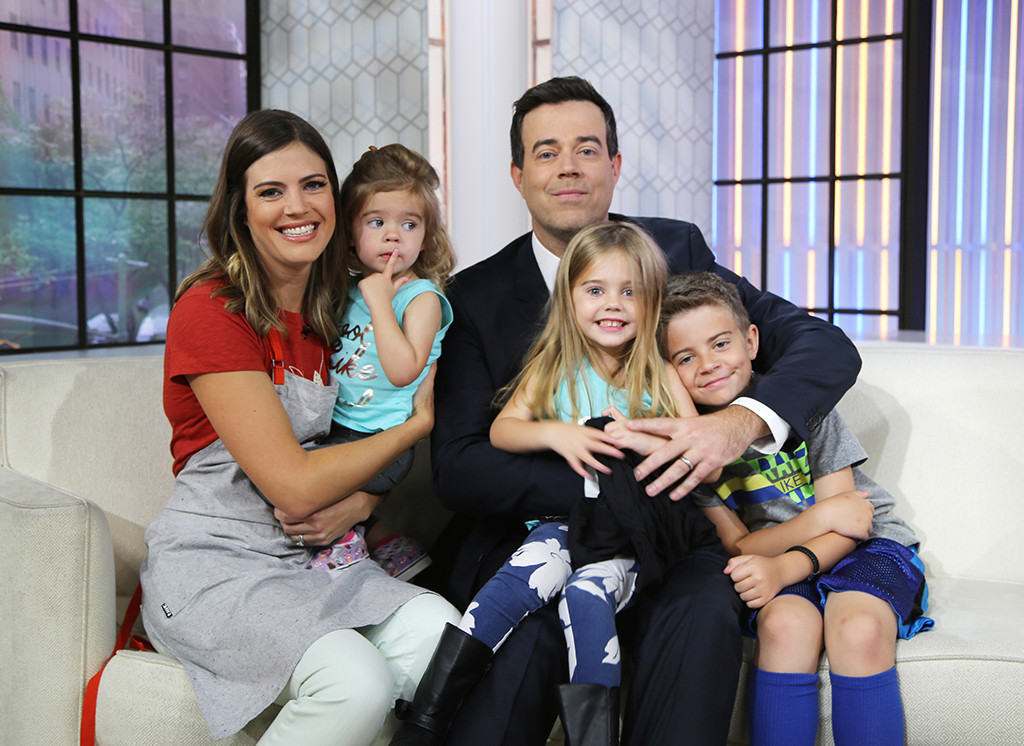 Siri Daly, London Rose, Carson Daly, Etta Jones, Jackson James