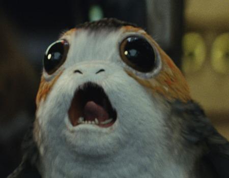 Chewbacca Smacks A Porg In Star Wars The Last Jedi