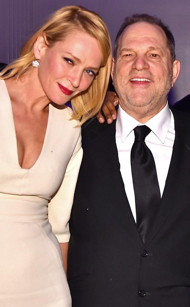 Uma Thurman, Harvey Weinstein