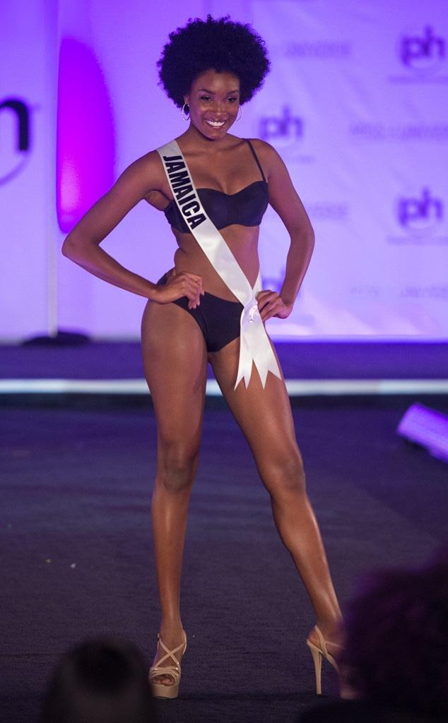 Miss Jamaica, Miss Universe 2017, bikini, swimsuit competition