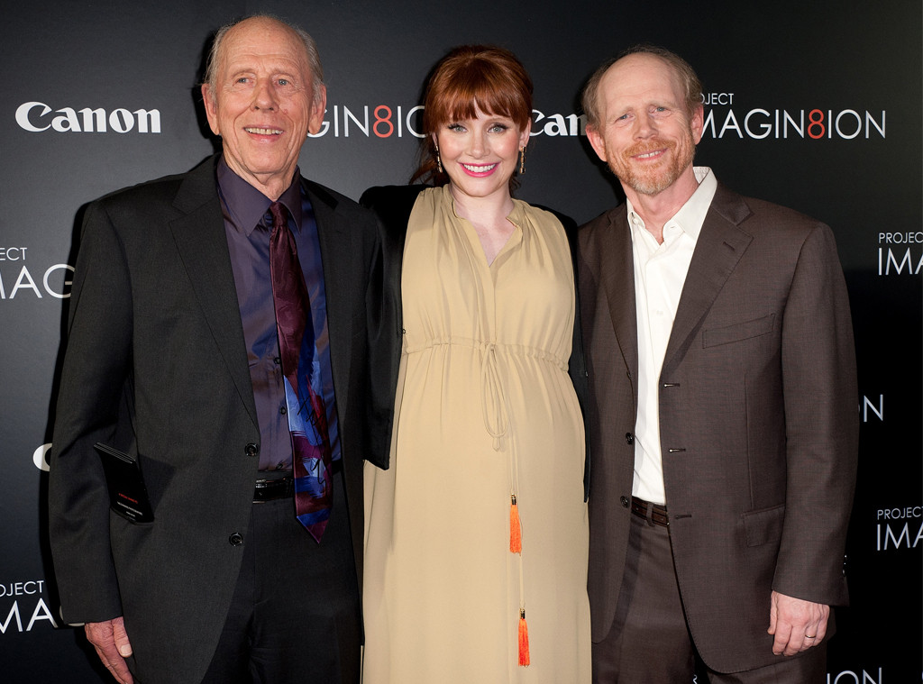 Rance Howard, Bryce Dallas Howard, Ron Howard