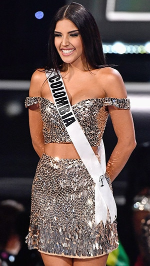 Miss Colombie 2017 >> Miss Colombia 2017 From 2017 Miss Universe Pageant S Top 10 E News