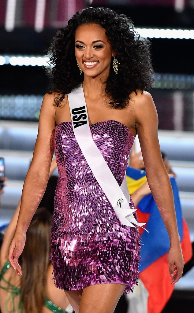 Miss USA from 2017 Miss Universe Pageants Top 10   E! News