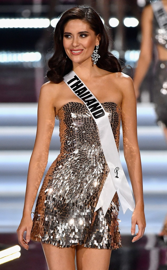 Miss Thailand 2017 from 2017 Miss Universe Pageants Top