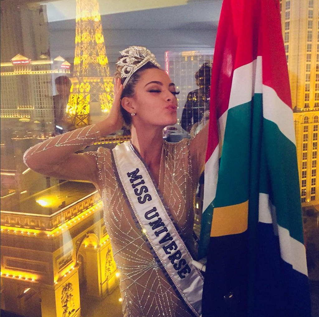 Demi-Leigh Nel-Peters., Miss Universe