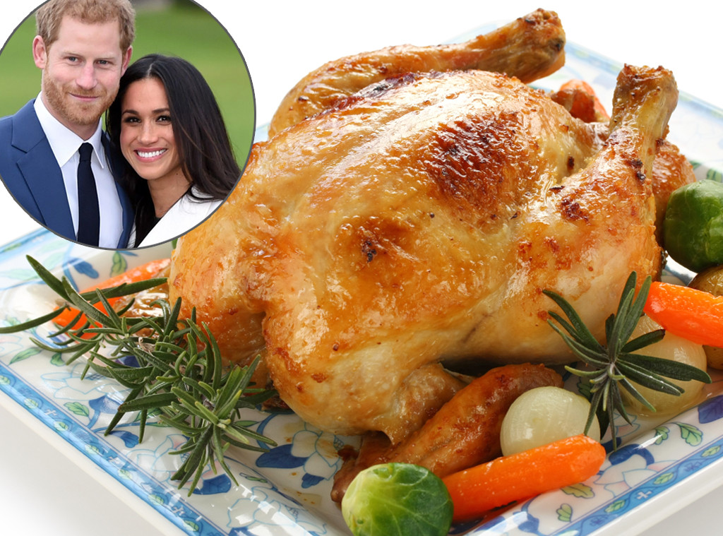 Prince Harry, Meghan Markle, roast chicken