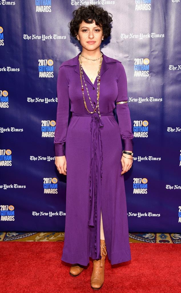 Alia Shawkat, Gotham Awards 2017