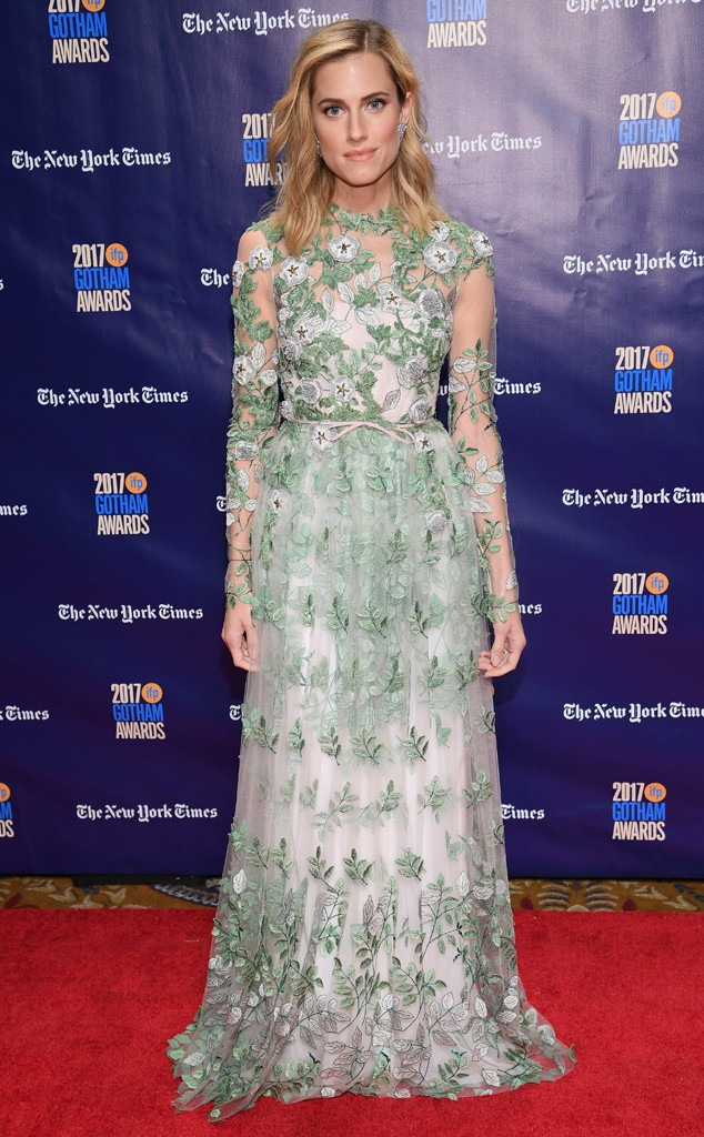 Allison Williams, Gotham Awards 2017