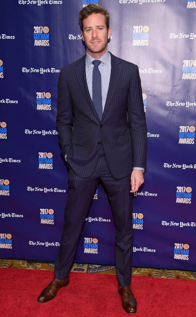 Armie Hammer, Gotham Awards 2017