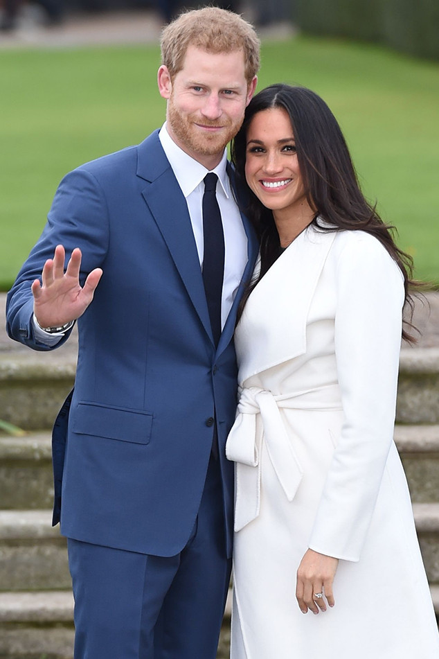 prince harry and meghan markle announce a wedding date may 19 2018 e news. Black Bedroom Furniture Sets. Home Design Ideas