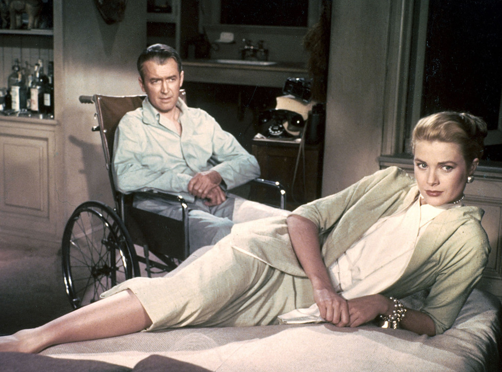 Jimmy Stewart, Grace Kelly, Rear Window