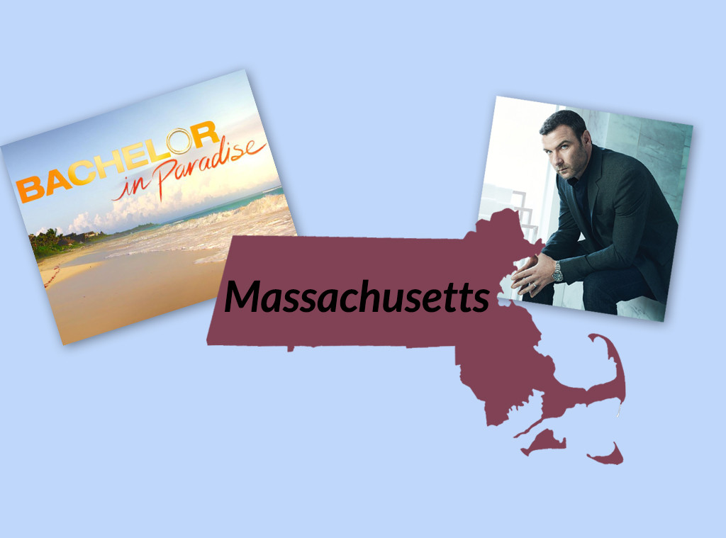 Favorite TV Shows in The United States, Massachusetts, Ray Donovan, Bachelor in Paradise