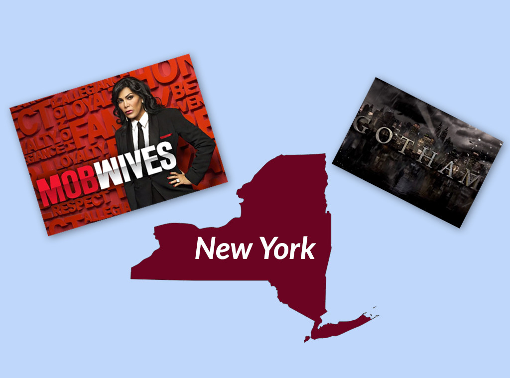 Favorite TV Shows in The United States, New York, Mob Wives, Gotham