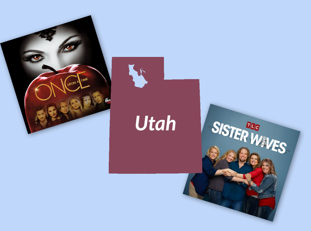 Favorite TV Shows in The United States, Utah, Once Upon a Time, Sister Wives