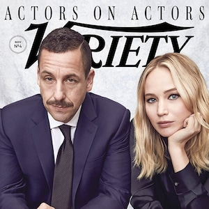 Jennifer Lawrence, Adam Sandler, Variety