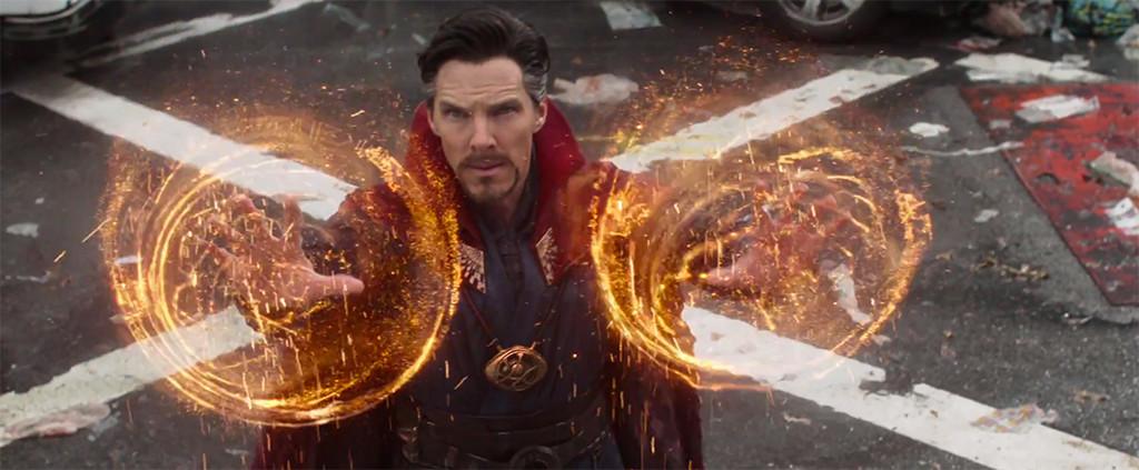 Avengers Infinity War Trailer Unites Captain America Doctor