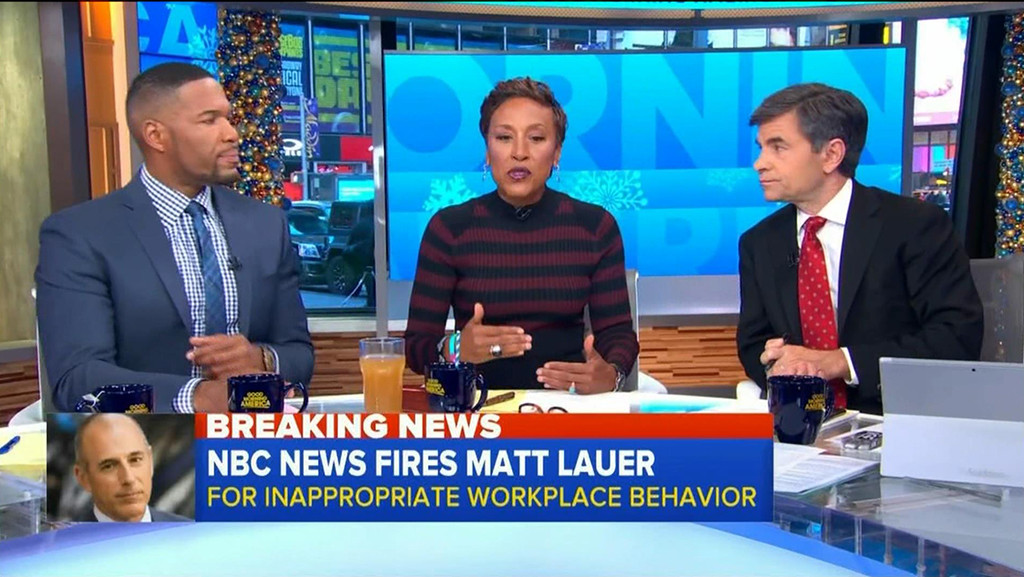 Good Morning America, Matt Lauer, Firing