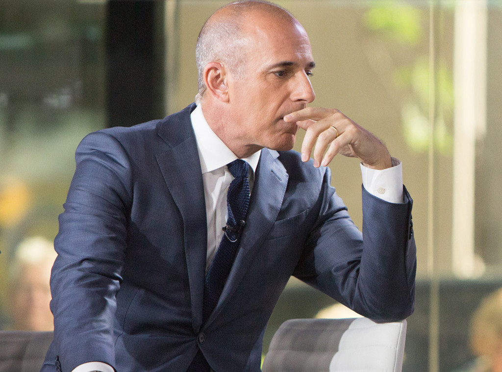 Matt Lauer Fired Amid Sexual Misconduct Allegations