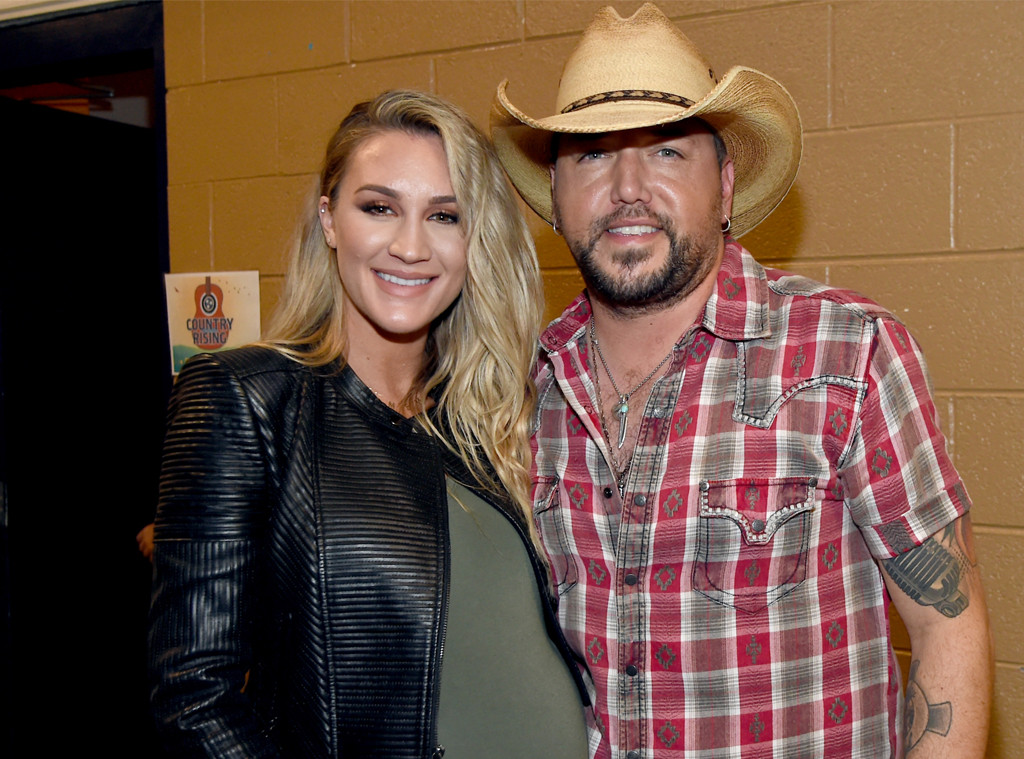 ebc2668a3b0bb1 Jason Aldean and Wife Brittany Welcome First Child Together