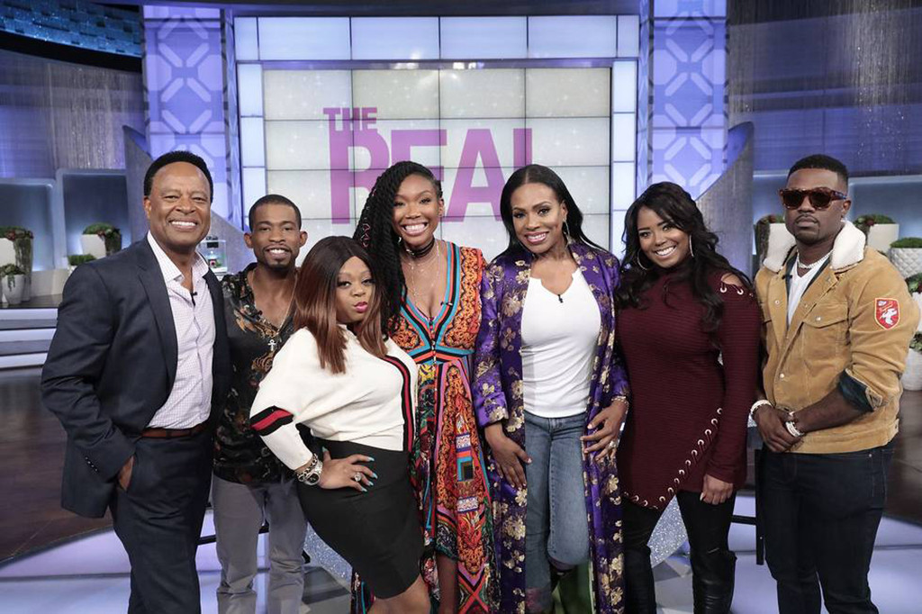 Moesha, Cast, Reunion, The Real, Brandy