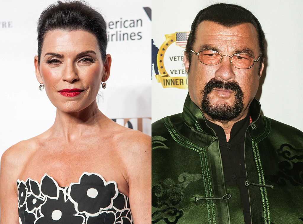 Julianna Margulies, Steven Seagal