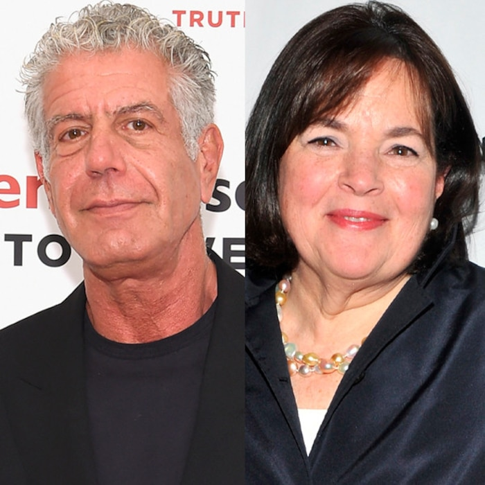 Image result for anthony bourdain ina garten