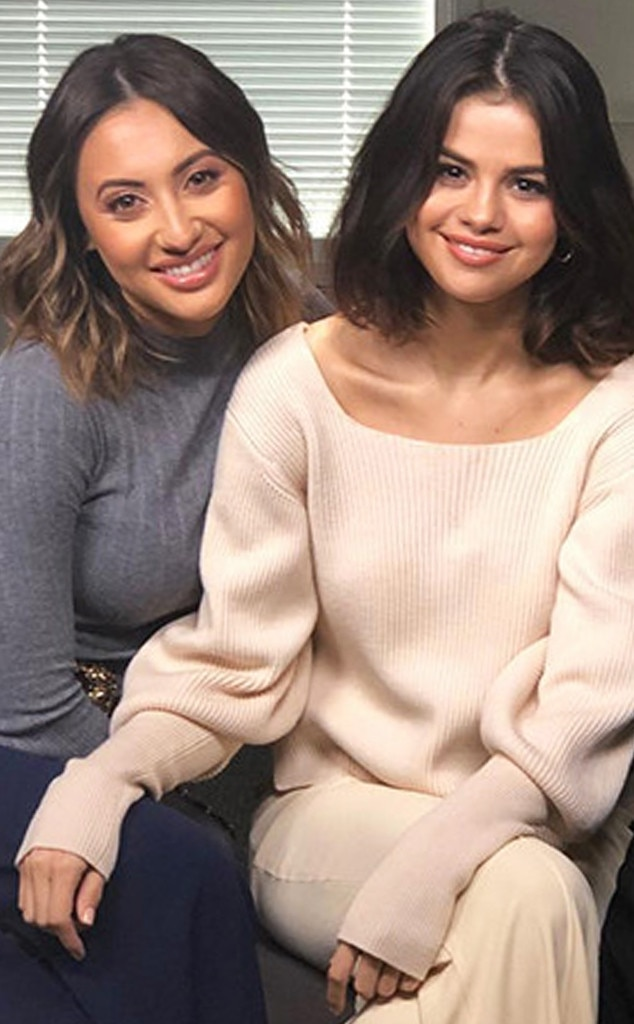 Francia Raisa and kim kardashian