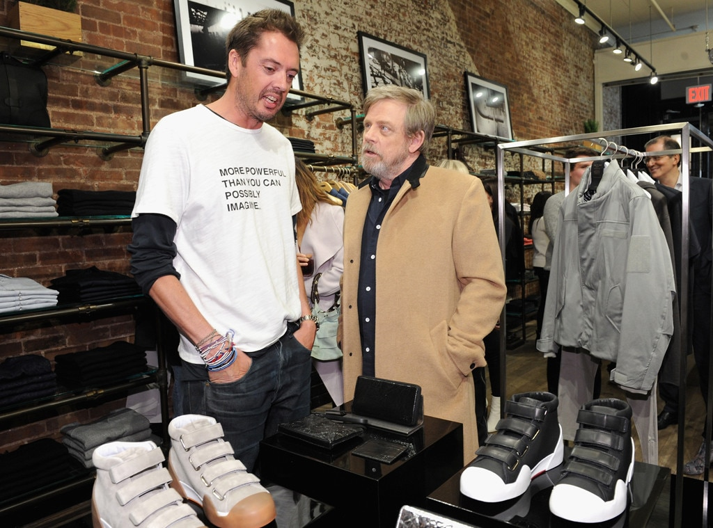 Mark Hamill -  The  Star Wars  star and designer Marcus Wainwright celebrate the launch of the rag & bone X Star Wars  collection  in New York City.