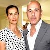 Matt Lauer, Annette Roque