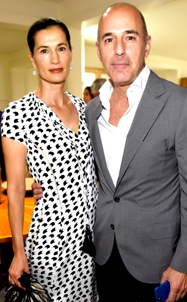 Matt Lauer's Wife Annette Roque Files for Divorce More Than a Year After Today Firing