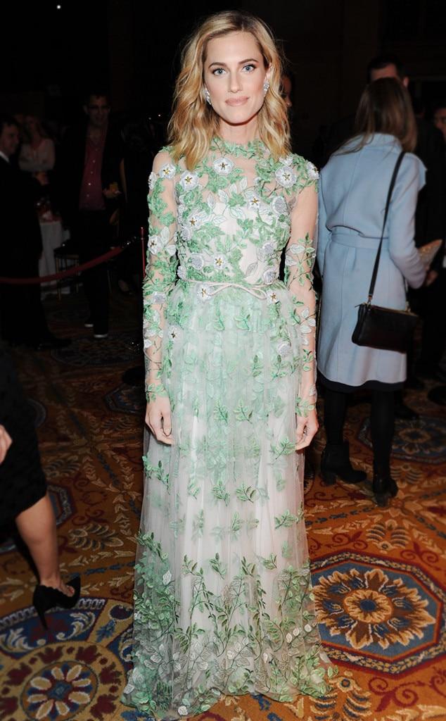 ESC: Best Dressed, Allison Williams