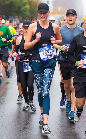 Karlie Kloss, New York City Marathon