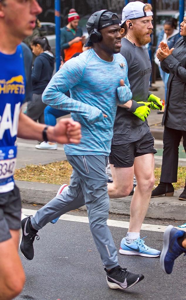 Kevin Hart, New York City Marathon