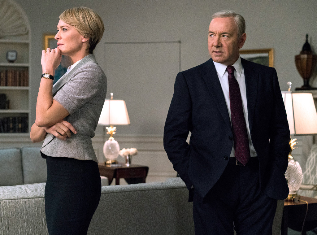 House of Cards, Kevin Spacey, Robin Wright, Season 5