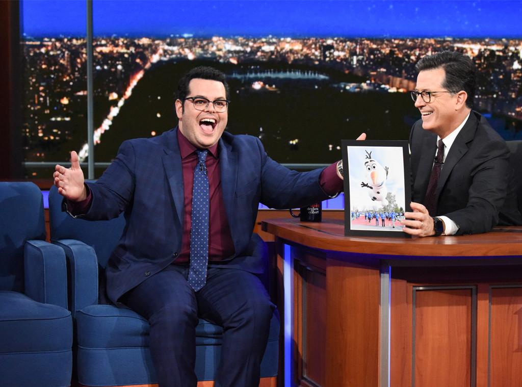 Josh Gad, Stephen Colbert