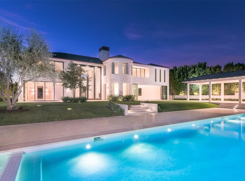 Kim Kardashian, Kanye West, Bel-Air Home