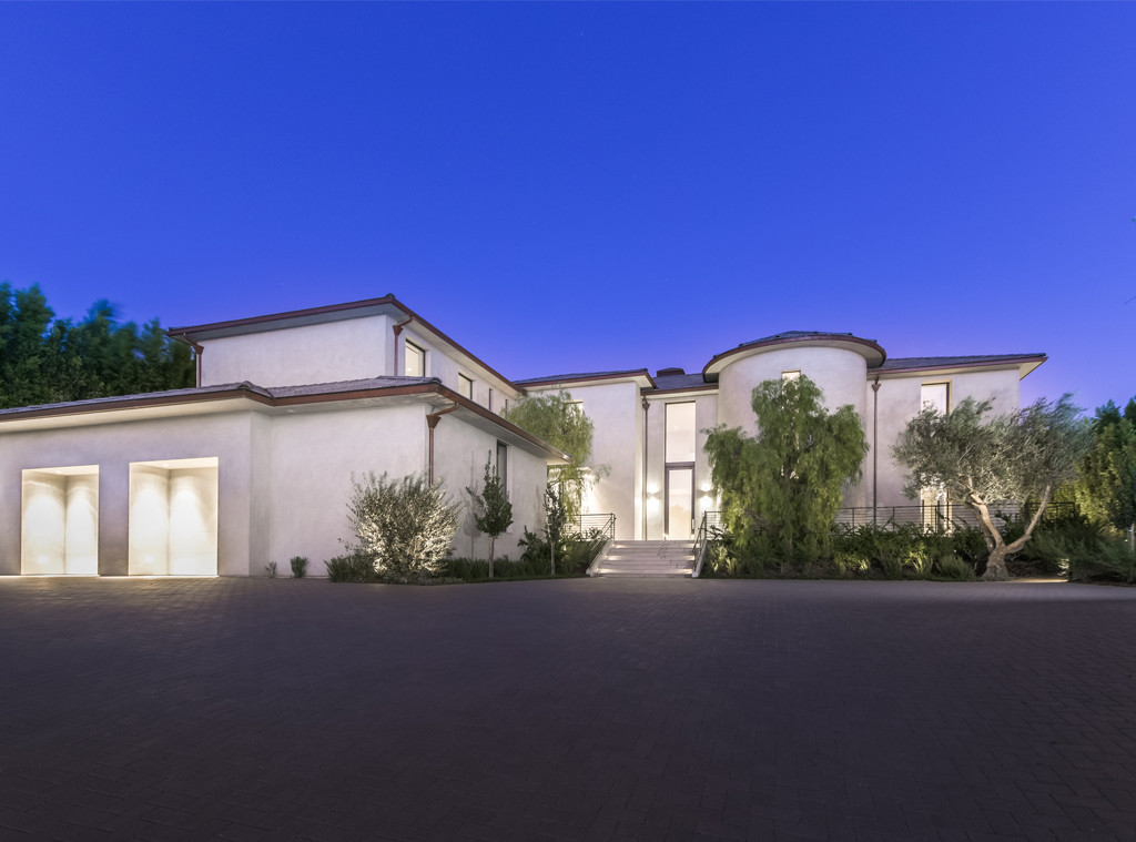 Kim Kardashian, Kanye West, Bel-Air Home