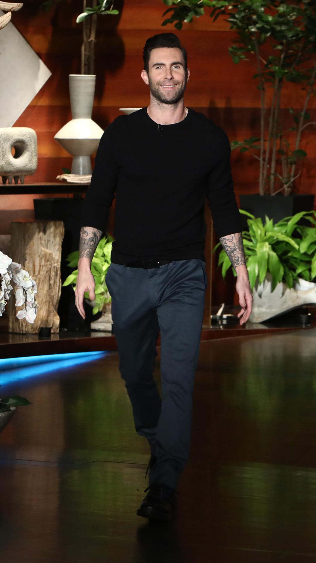 Adam Levine, The Ellen DeGeneres Show