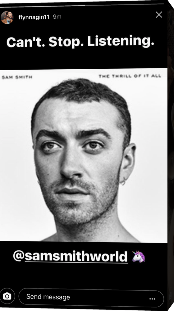 Brandon Flynn, Sam Smith
