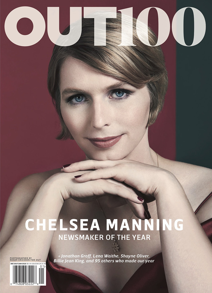 OUT Magazine, Chelsea Manning