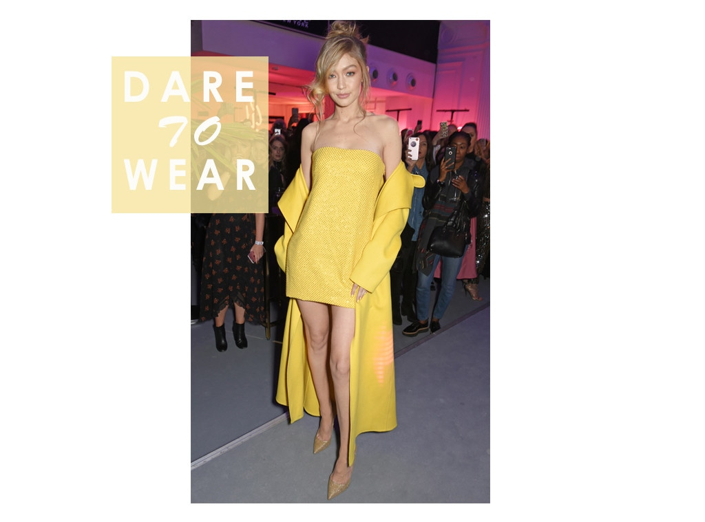 ESC: Dare to Wear, Gigi Hadid