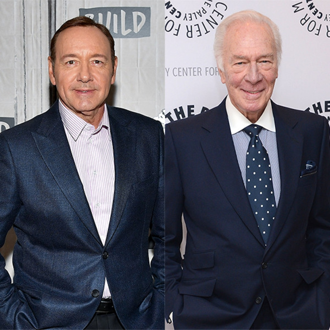 Christopher Plummer on Replacing Kevin Spacey: ''It's Very Sad'' - E! Online