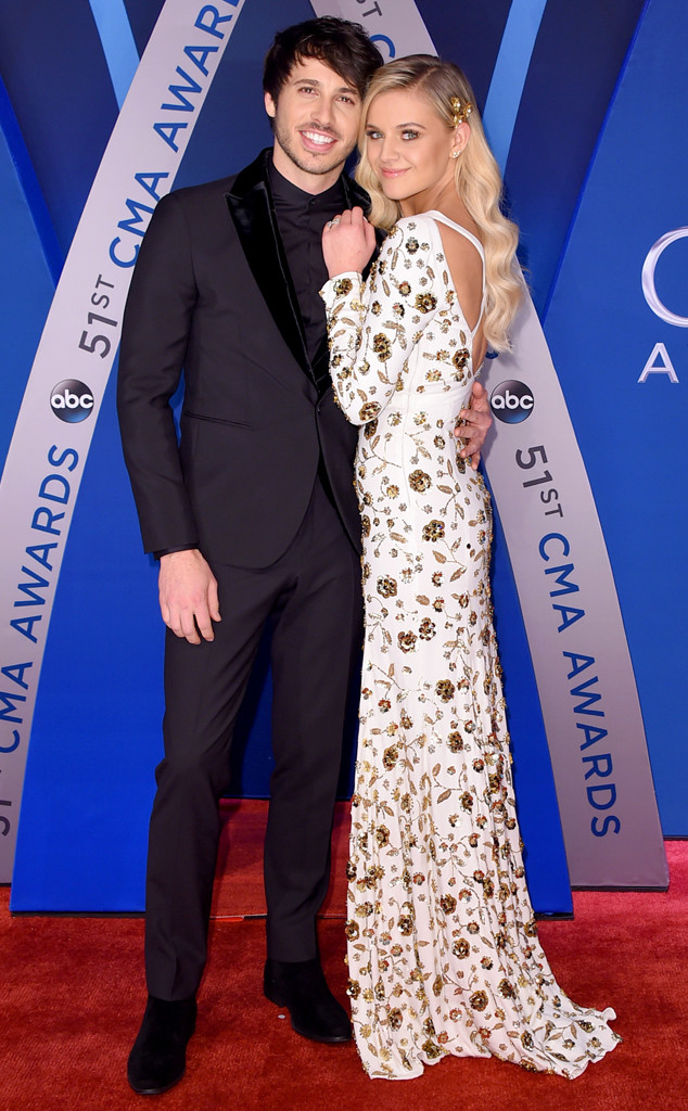 Morgan Evans, Kelsea Ballerini, 2017 CMA Awards, Couples