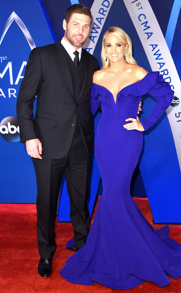 Mike Fisher, Carrie Underwood, 2017 CMA Awards, Couples