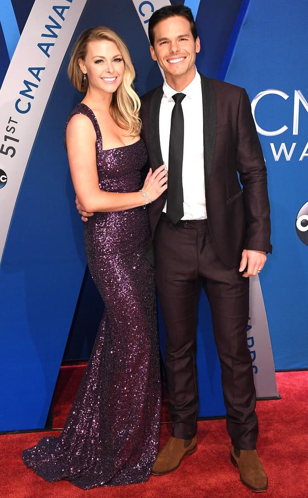 Granger Smith, Amber Bartlett, 2017 CMA Awards, Couples