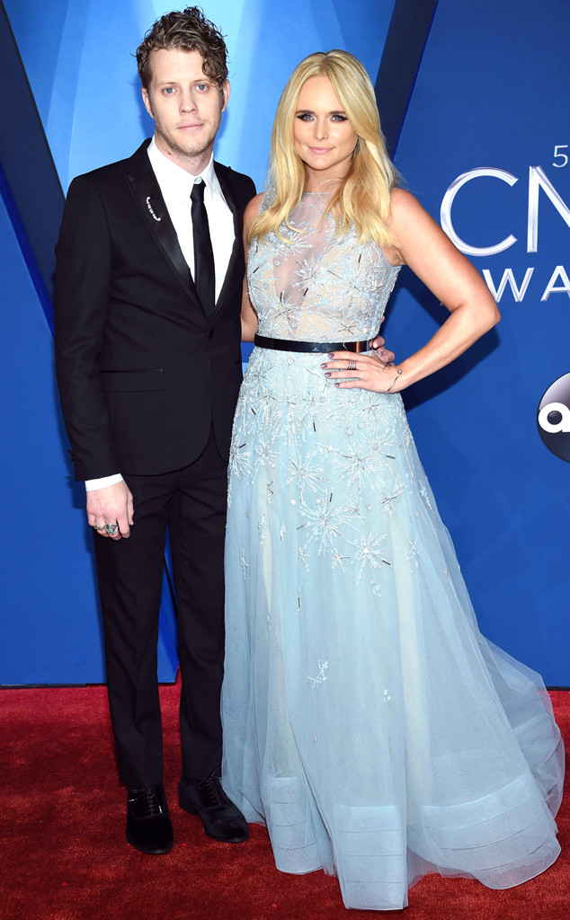 Anderson East, Miranda Lambert, 2017 CMA Awards, Couples