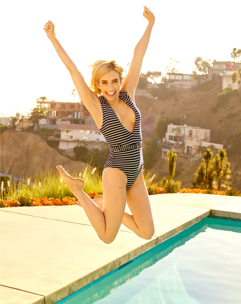 ESC: Emma Roberts, Shape (Embargo to Thurs 10am)