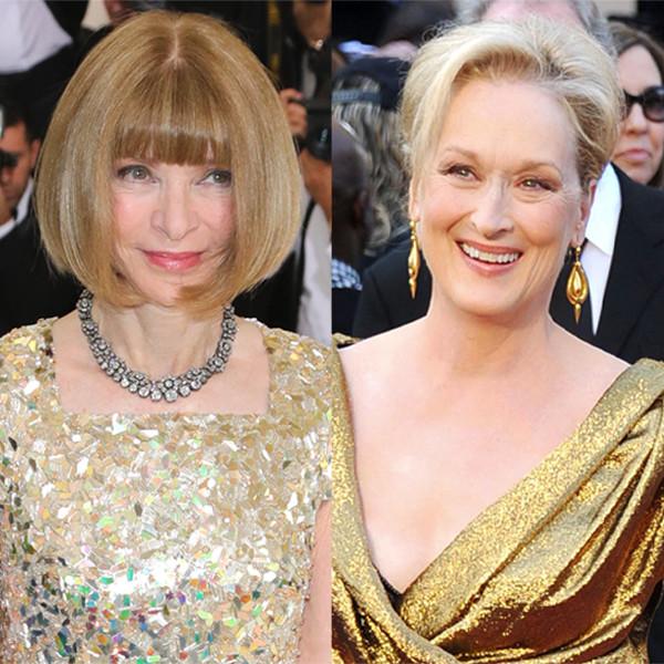 Anna Wintour, Meryl Streep