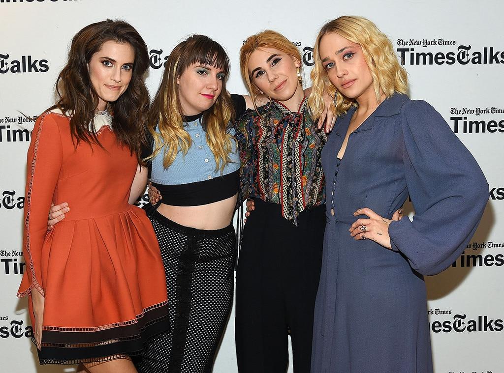 Allison Williams, Lena Dunham, Zosia Mamet, Jemima Kirke, Girls Cast